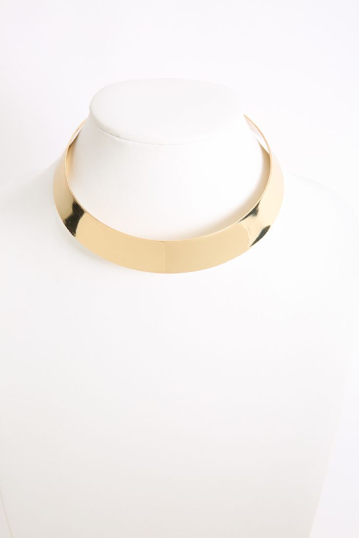 South Moon Under Gold Collar Cuff Necklace | South Moon Under