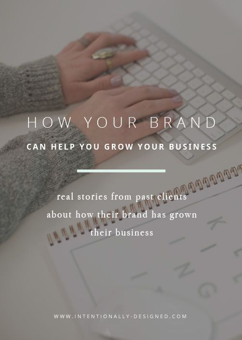 A strong and intentional brand is one of your biggest investments and assets as a business owner. Your brand is essentially your business and shows exactly who you are as a business to reach those ideal clients. Having a well thought out and well designed brand can help you grow your business by reaching those dream clients and customers, growing a genuinely connected community, and ultimately increasing your revenue and profits.