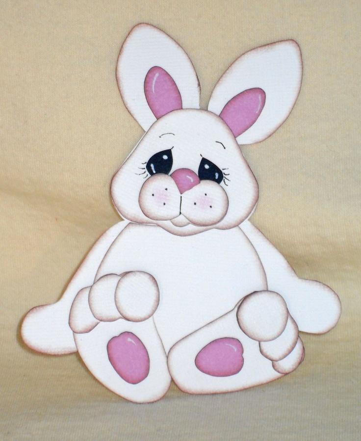 Rabbit (Scrapbook Paper Piecings)