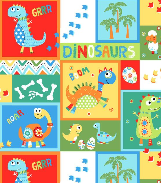 17 best images about dinosaur nursery on pinterest for Girly dinosaur fabric