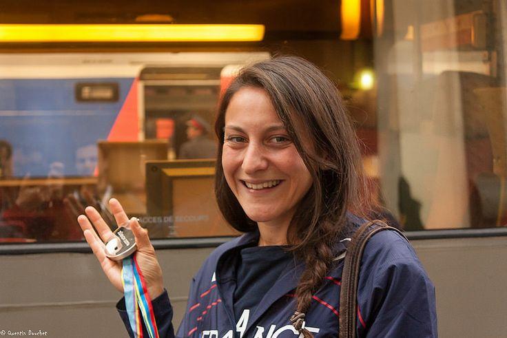 Clémence Calvin : médaille d'argent sur 10 000m. #sport #athlétisme #Athletics #sport #medal #médaille #woman #athlète