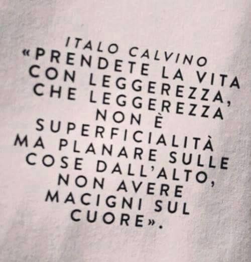 Italo Calvino #aforismi