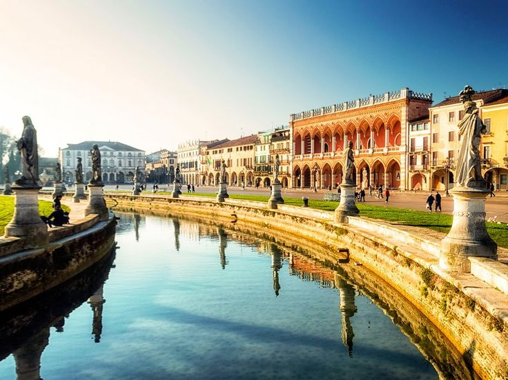 Italy's largest town square is also one of it's loveliest, with open-air markets, a statue-lined canal, and ample green space for taking a moment to soak in the sun.