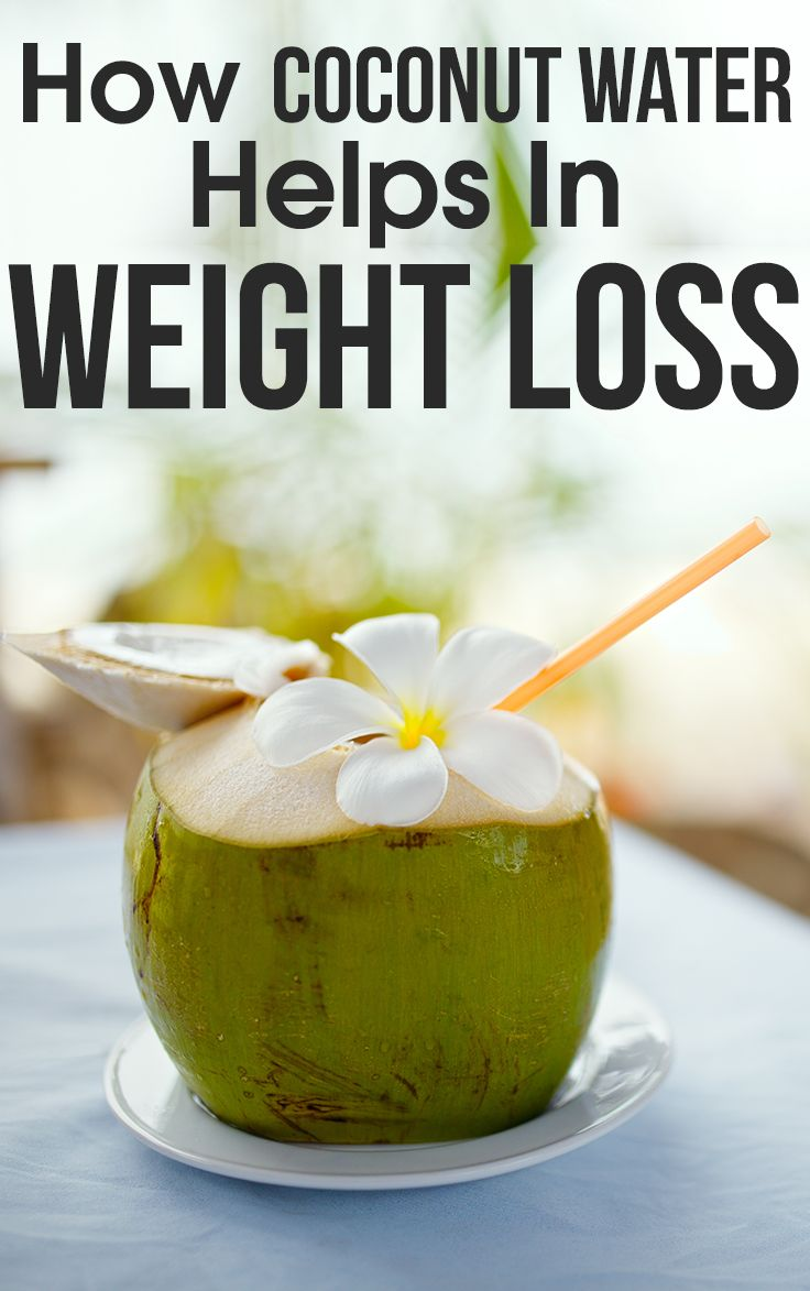 The natural energy drink, coconut water weight loss is one of the best options! Know how does coconut water benefits weight loss. #weightloss #health