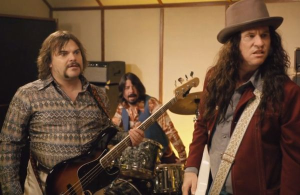 Watch Dave Grohl, Jack Black, and Val Kilmer perform together as Sweetriver and the Huckleberry Dogs
