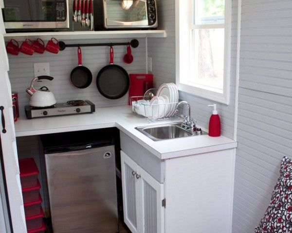 Fotos de cocinas peque as y modernas de 2016 cocinas peque as tiny house - Cocinas pequenas y modernas ...