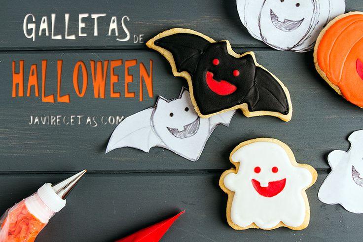 Estoy preparando un SUPER ESPECIAL de GALLETAS DE HALLOWEEN con todos los pasos para preparar vuestras propias galletas en casa. No dejéis de pasaros por aquí para ir viendo las novedades.  http://www.javirecetas.com/galletas-de-halloween/