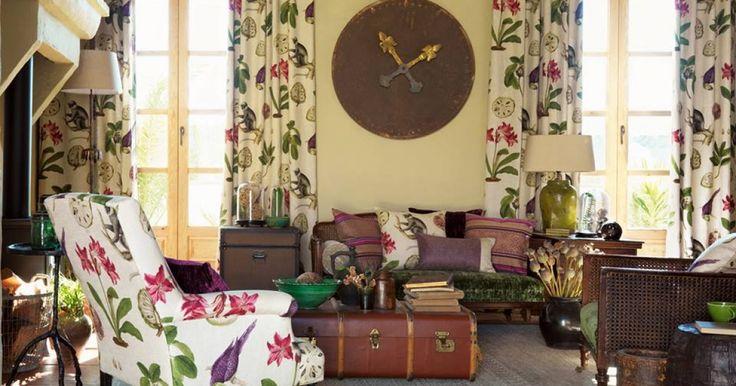 Kaip dekoruoti namus vasariškais audiniais ir tapetais? #domusgalerija #interjeroidejos #retroforma