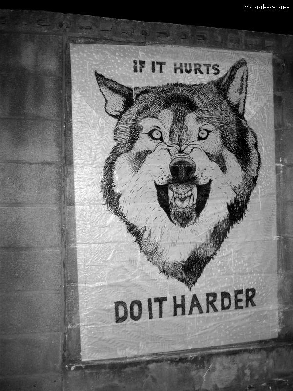 If it Hurts... Do it Harder !