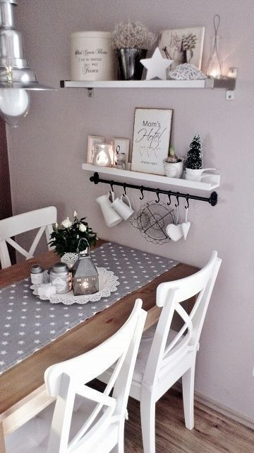 Ideendekor für Küche, Esszimmer und Esszimmer. Praktische Tische, Küche …   – Wohnung