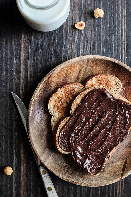 This looks achievable. Homemade Chocolate Hazelnut Spread