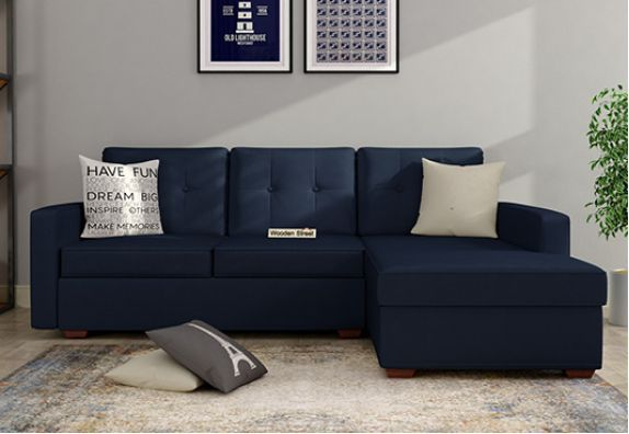 Shop Fabric L Shaped Sofa Set Online India In 2020 Corner Sofa Set Sofa Set Online L Shaped Sofa Designs