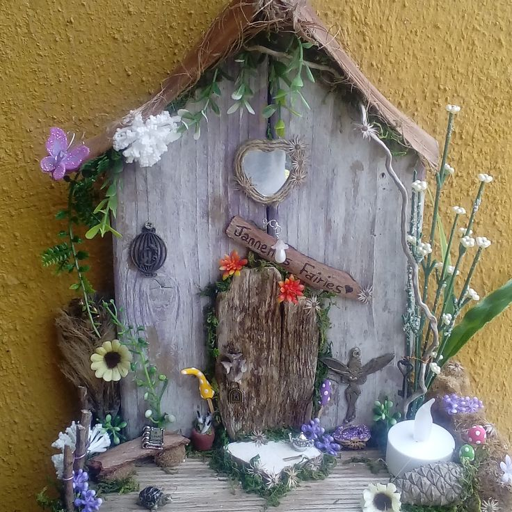 new over at jansfabfairies on facebook, fairy door