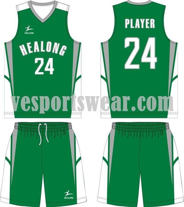 100% polyester basketball jerseys kit