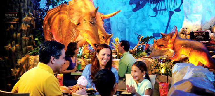 T-Rex | Downtown Disney Dining & Restaurants | Walt Disney World Resort