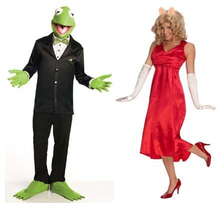 The Muppets Couples Costume Miss Piggy & Kermit Adult Standard Rubie's Costume Co,http://www.amazon.com/dp/B002QHLQBW/ref=cm_sw_r_pi_dp_8Zj9rb0EAC9WYAF7