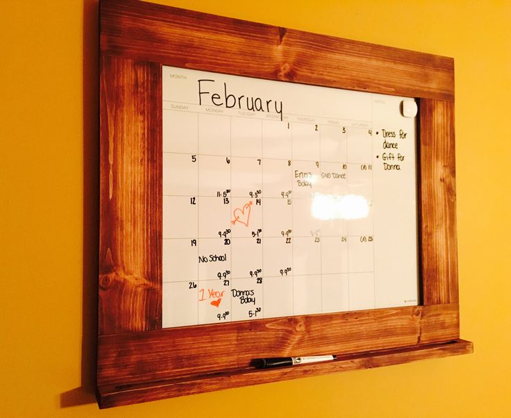 Framed Wall Calendar best 20+ dry erase wall ideas on pinterest | dry erase calendar