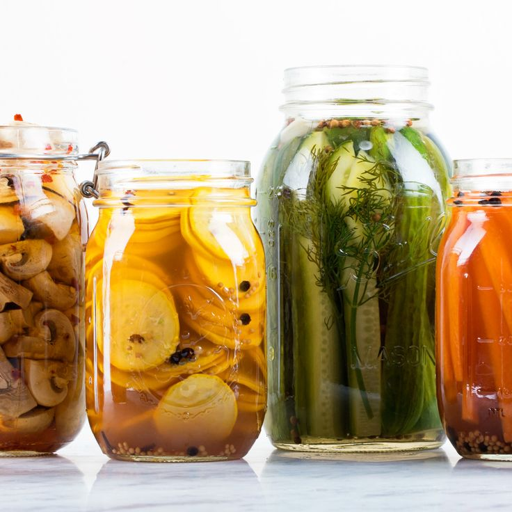 The easiest way to preserve summer's flavors? Quick pickle them.