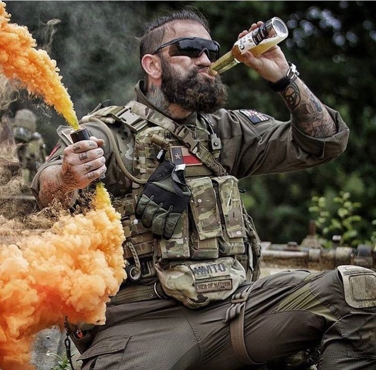 Accomplished is marking your LZ in style!