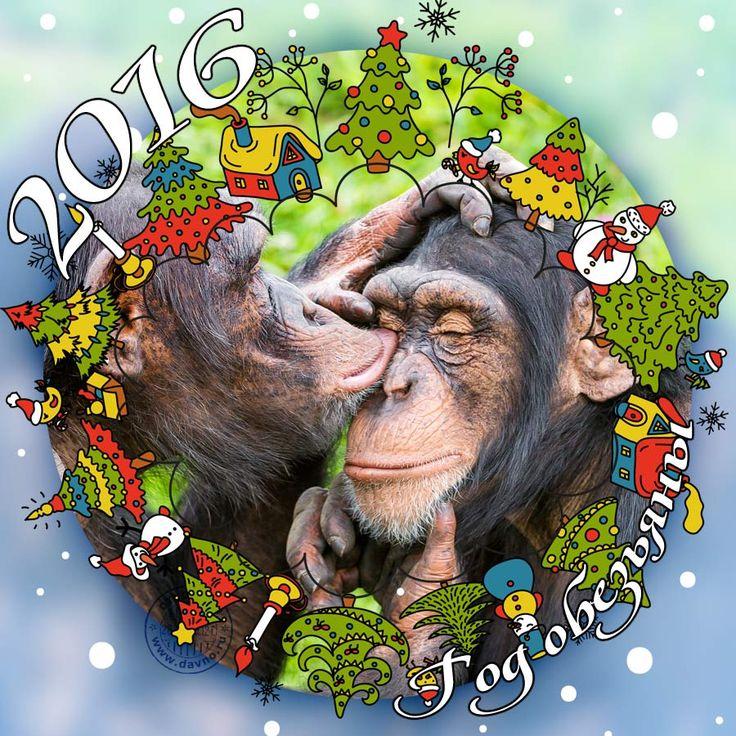 2016 - это год Обезьяны