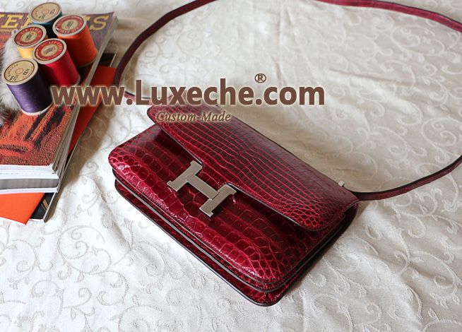 hermes totes - Authentic-Mirror-copy-25cm-Hermes-Constance-Elan-handbag-Purse ...