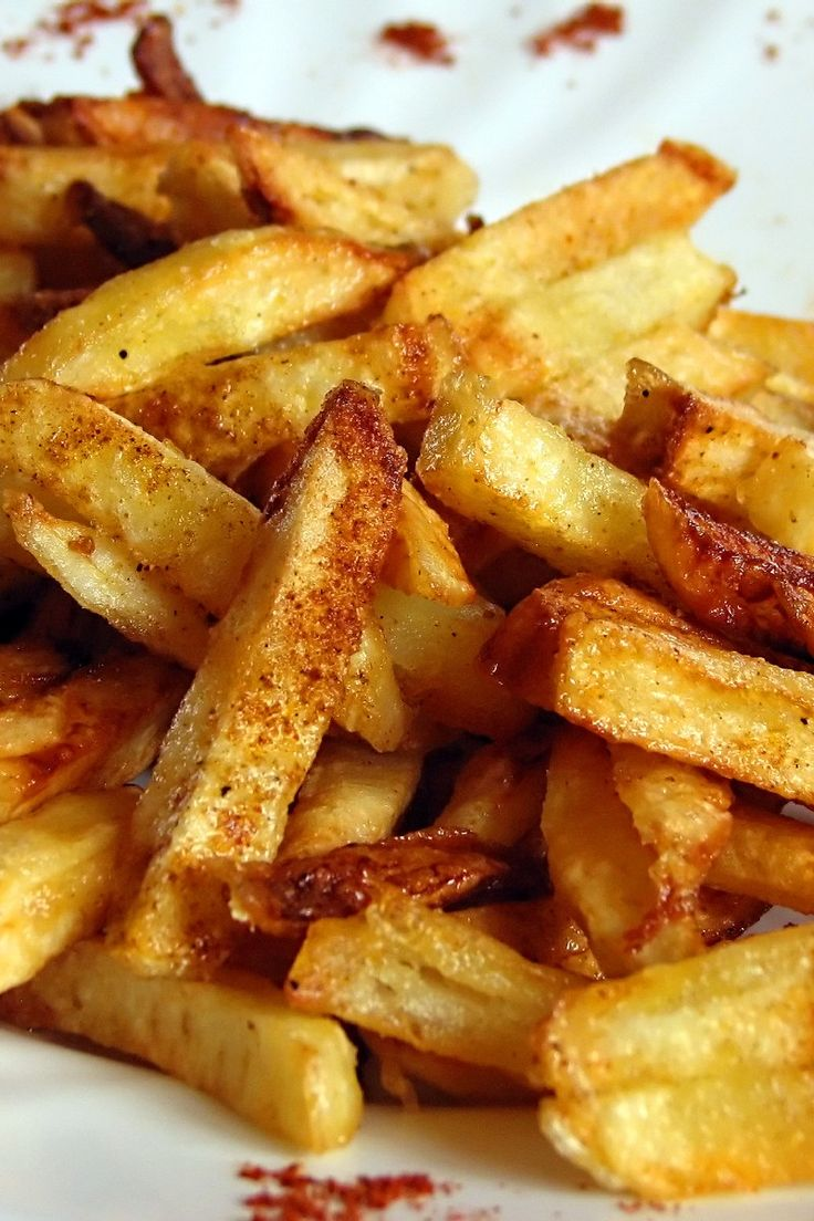 Homemade Crispy Seasoned French Fries - Super Bowl Food: 29 Winning Recipes