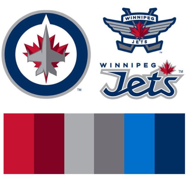 Winnipeg Jets Colour Scheme
