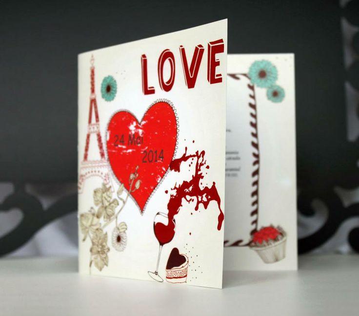 French love! www.designbyclarice.ro