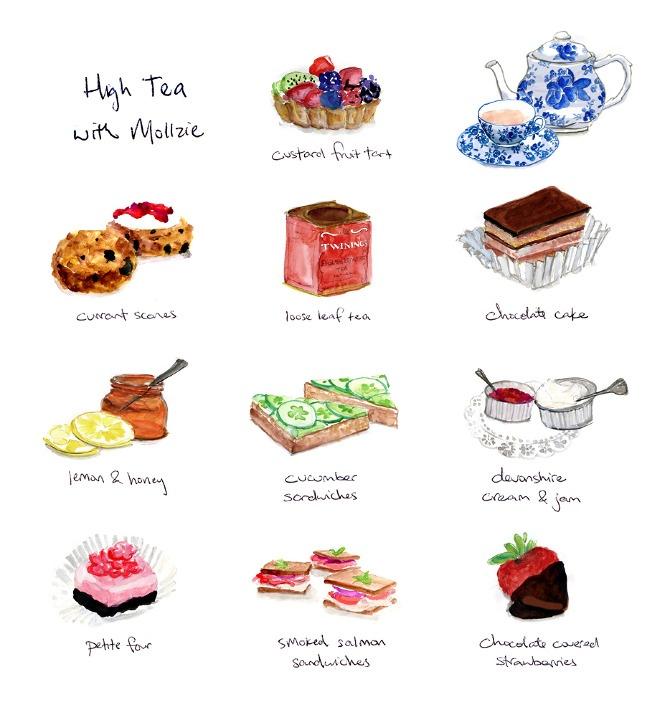 High Tea - Lauren Monaco Illustration and Design
