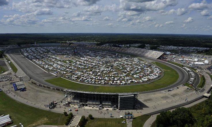 Michigan International Speedway, Brooklyn MI - Seating Chart View