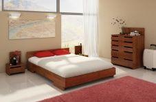 Łóżko bukowe Visby Bergman Long