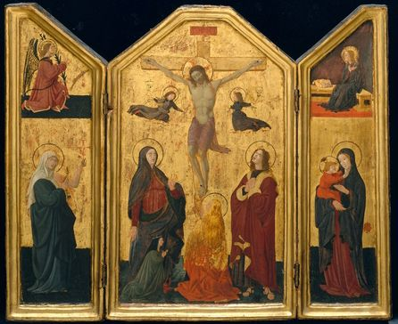 Crucifixion, 1430-Paolo Uccello - by style - Early Renaissance