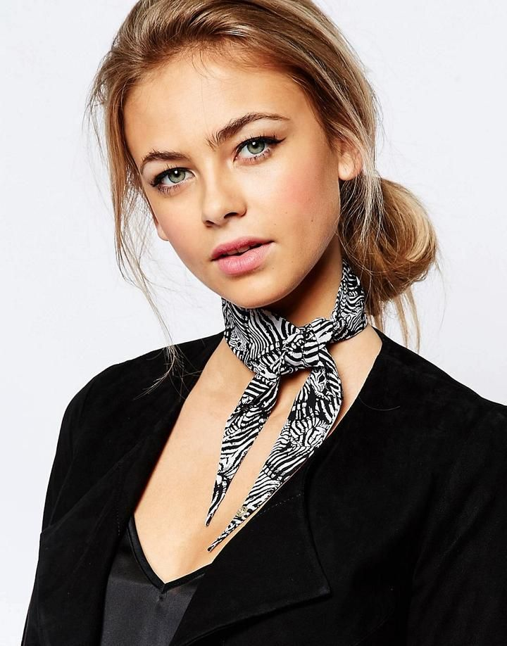 Ted Baker Zebra Puzzle Twilly Scarf