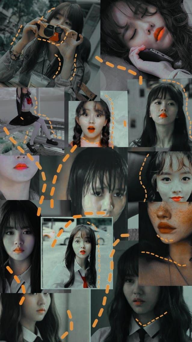 Kim So Hyun Wallpaper Gambar Orang Orang Aktris Wallpaper iphone aesthetic kim so hyun