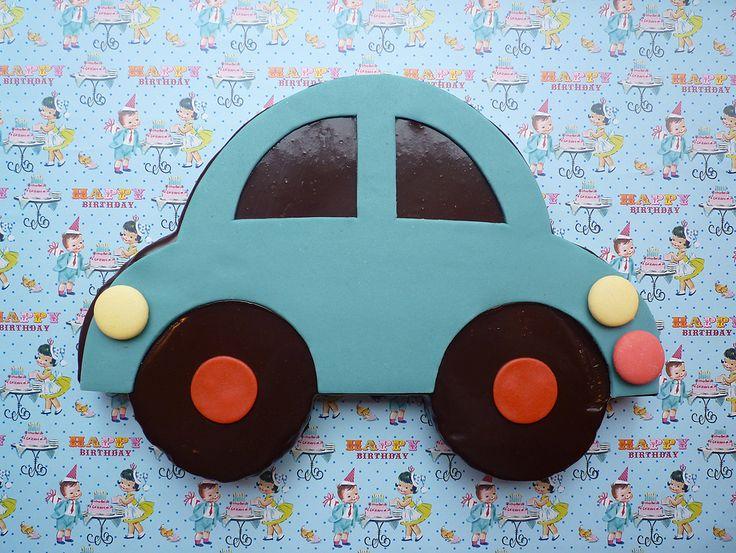 Tut tut ! | chez•bogato. Fondant au chocolat. Idéal pour les petits garçons pas encore en âge de conduire.
