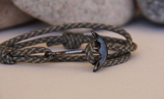 1000 id es sur le th me ancre marine sur pinterest ancres tatouage ancre et tatouage cheville - Bracelet couple ancre ...