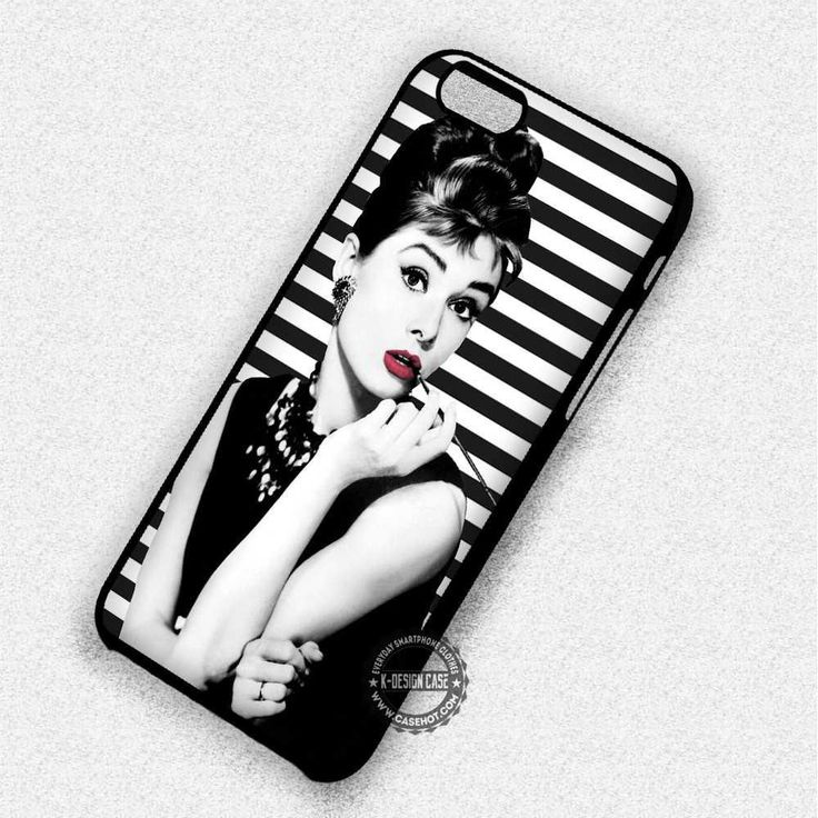 Audrey Hepburn Breakfast At Tiffany's - iPhone 7 6 5 SE Cases & Covers