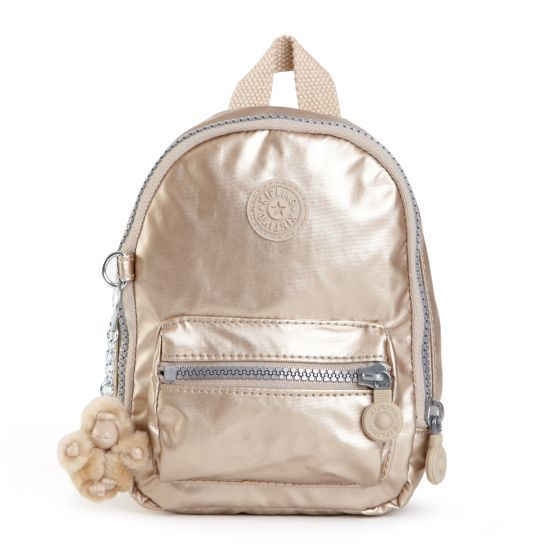 """This super-cute pen pouch is a back-to-school essential made to look like a mini backpack! Dimensions: 5.25"""" x 7.5"""" x 2.5"""" Weight: 0.2 lbs #Back2Kipling"""