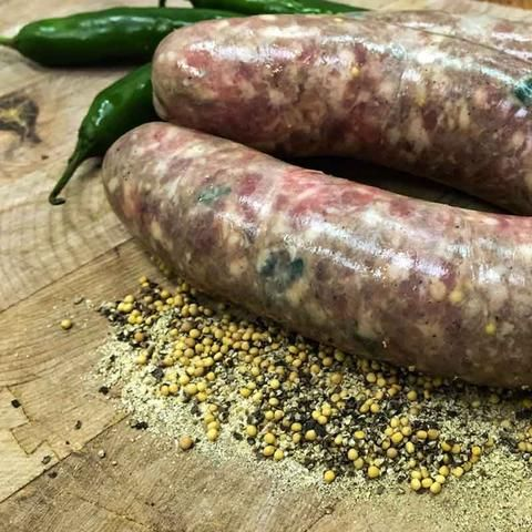 Jalapeno Bratwurst - Catullo Prime Meats