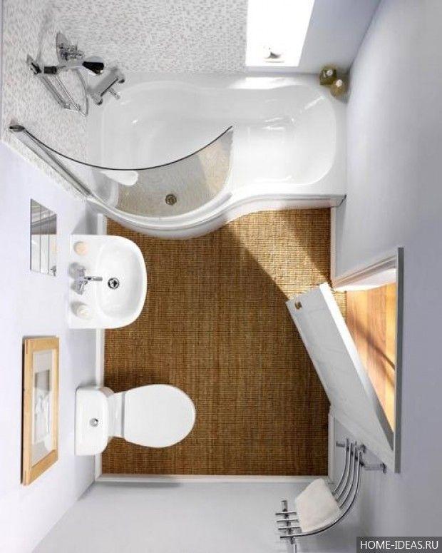 Ремонт ванной комнаты малых размеров: фото