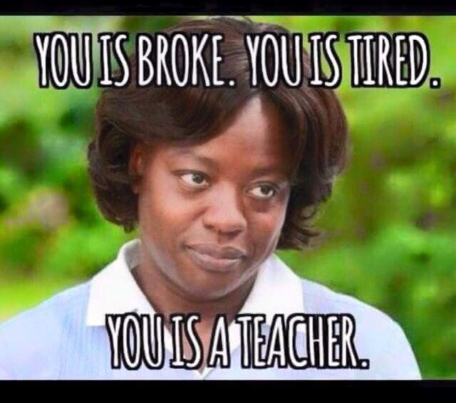 Image result for image of teachers needing a break