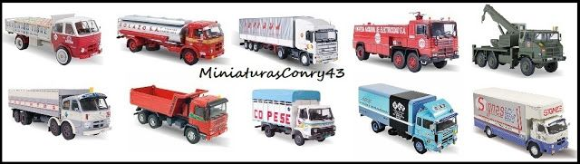 Miniaturasconry43 Camiones Pegaso Salvat Entregas Del 11 Al 20 Vehículo De Supervivencia Camiones Pegaso