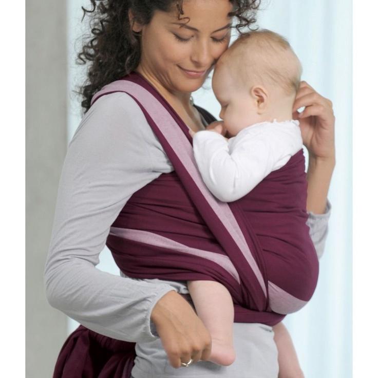 echarpe de por e en coton pour les ballades de bebe