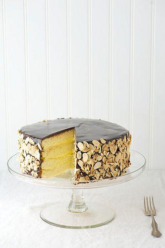 Boston Cream Pie via Fresh New England #recipe