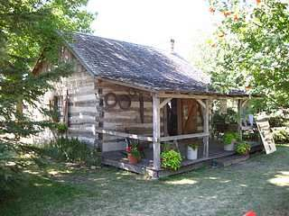 Pioneer Power tiny Log Cabin