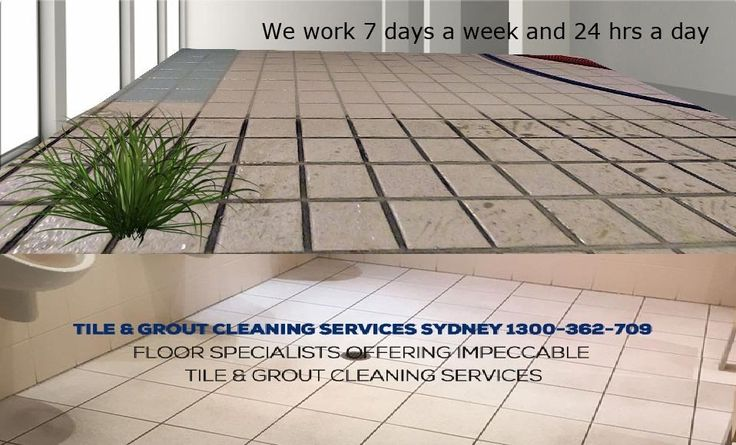 Using a specially formulated cleaning product containing bleach, like Domestos Bleach Spray, will help to make sure your tiles and grout don't make your bathroom look dirtier than it actually is! We restored this floor back to looking as new!