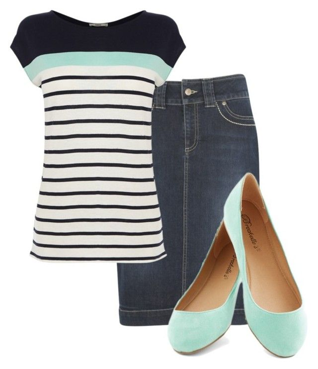 """""""Mint"""" by enhoover ❤ liked on Polyvore featuring kew.159 and Oasis"""