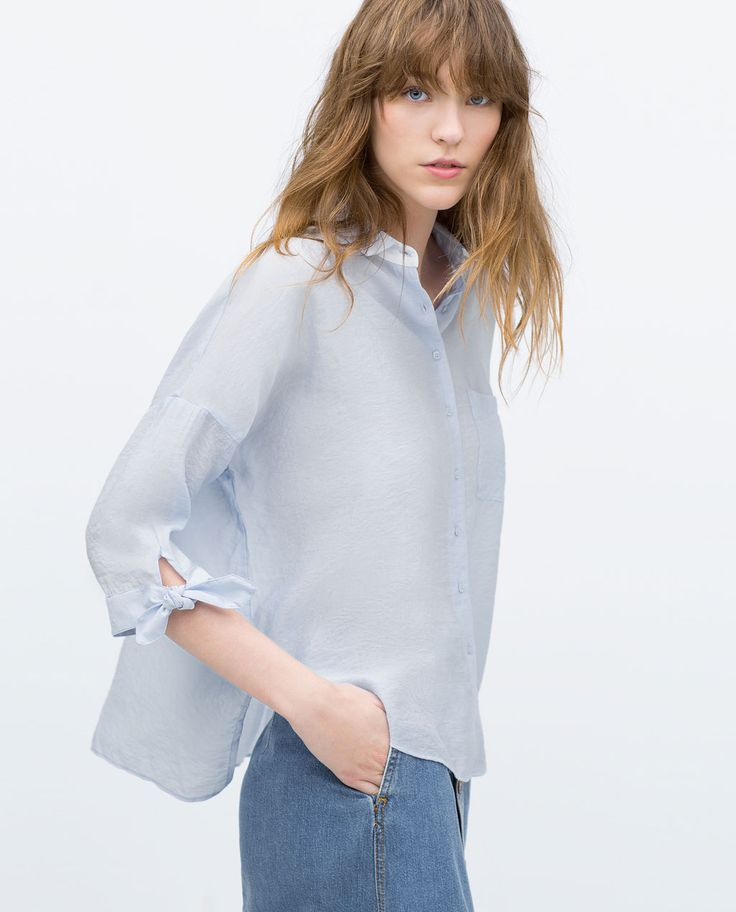 Zara Oversized Blouse 35
