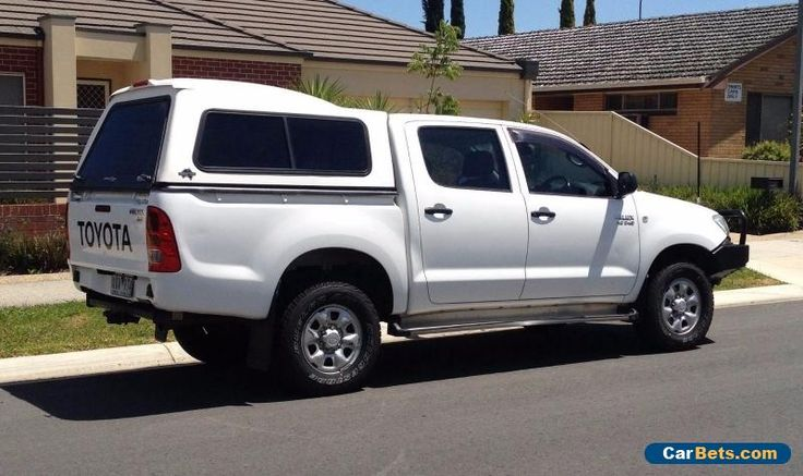 2010 Toyota Hilux 4x4 Dual Cab SR Ute Auto Diesel #toyota #hilux #forsale #australia