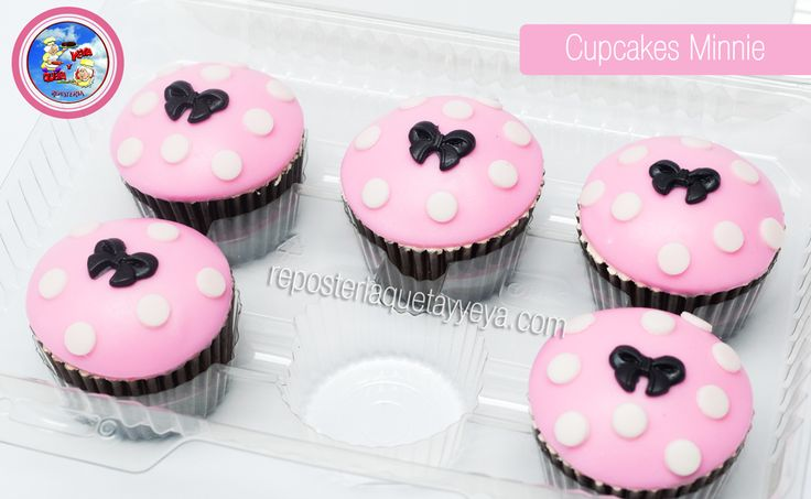 Cupcakes Minnie Mouse - Minnie Mouse Cupcakes